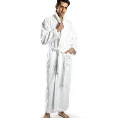 Extra Large Tall Men S Cotton Turkish Terry Bathrobe Xl