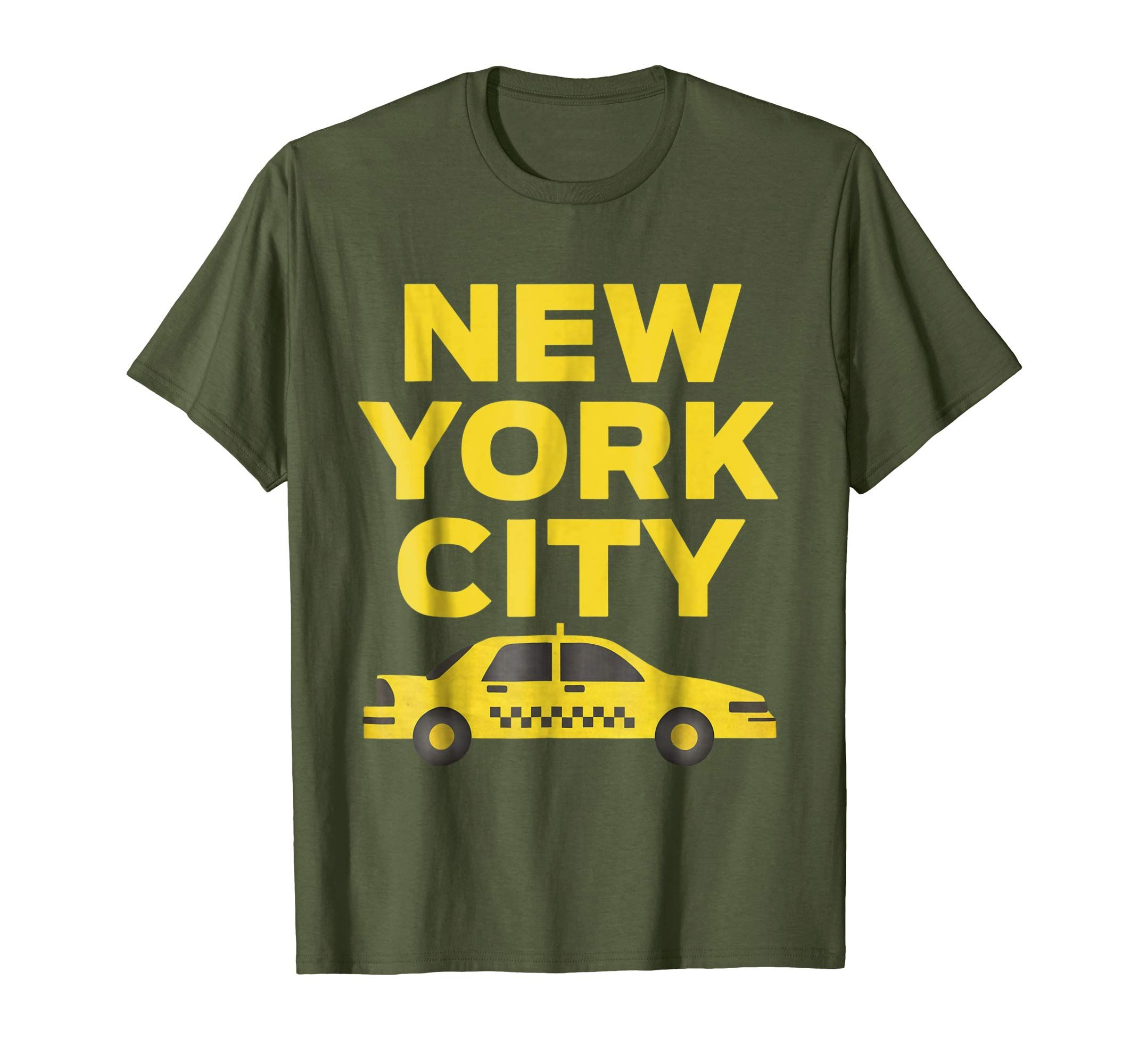 8ed242735fd3a Amazon.com: New York City Taxi Cab Iconic T-Shirt: Clothing | Cool ...
