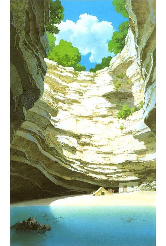 Cenários de Porco Rosso, do Studio Ghibli   TheCAB