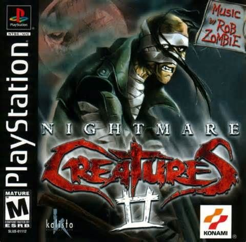 Nightmare Creatures 2 Ps1 Playstation Jogos De Playstation