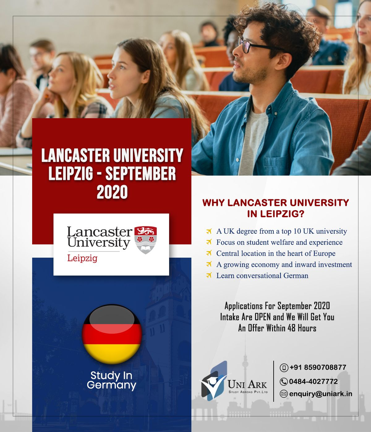 Lancaster University Leipzig Is The First Public Uk University In