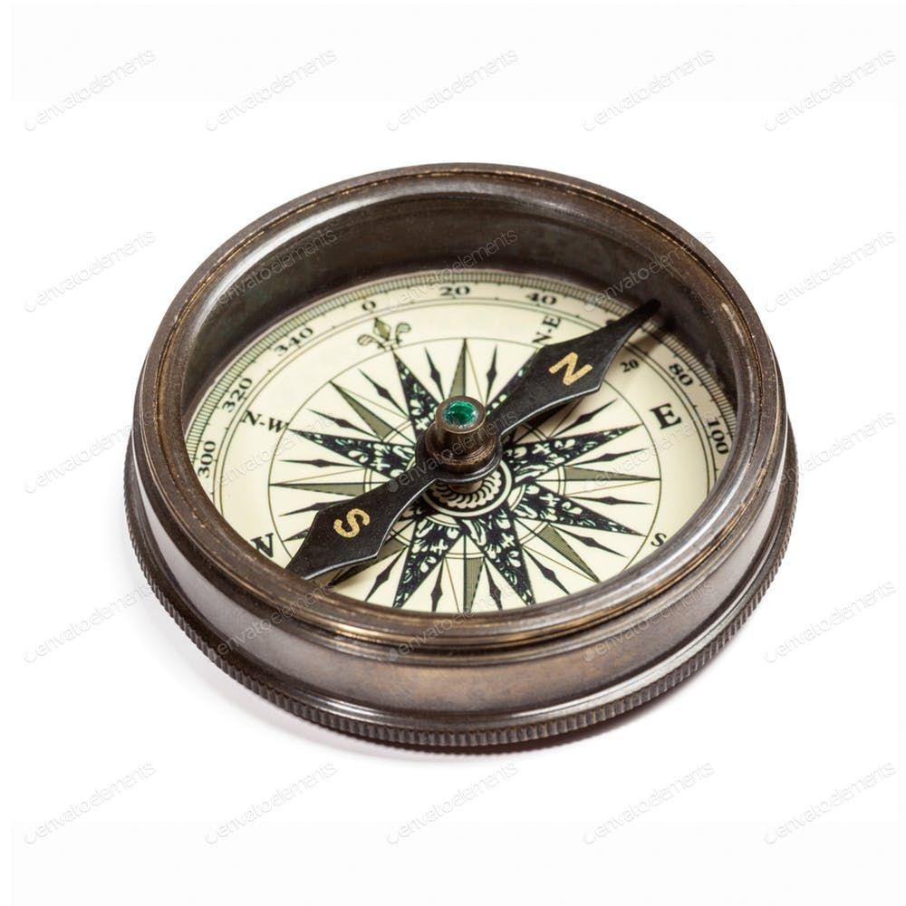 Old Vintage Compass Isolated By F9photos鈥檚 Photos Ad Sponsored Vintage Compass Isolated Com Imagens Tatuagem Masculina Braco Tatuagem Coruja Bussola