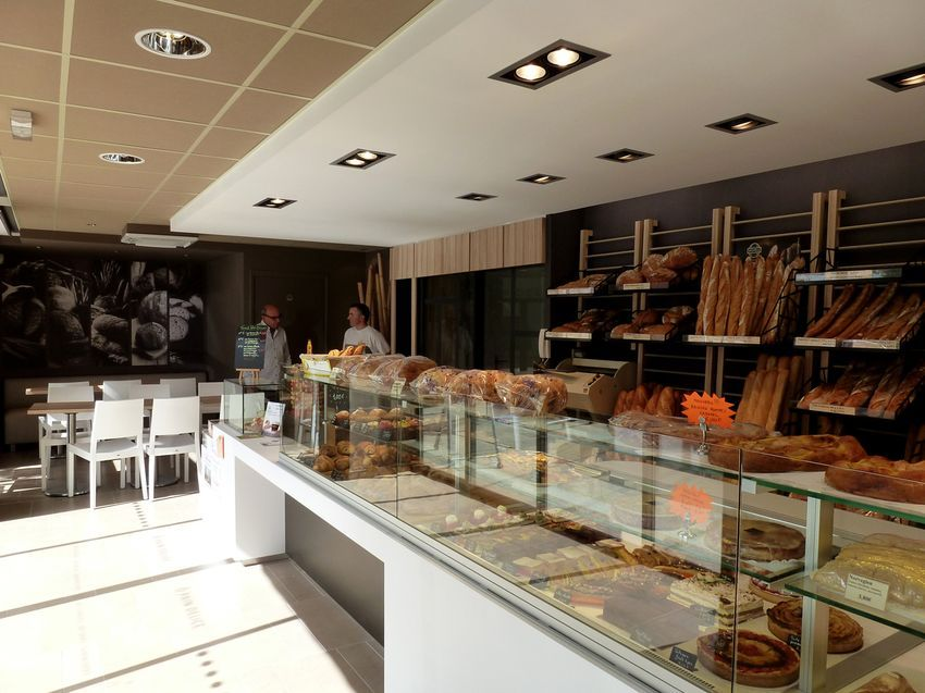 Agencement boulangerie patisserie chocolaterie boulanger for Agencement salon design