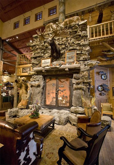 bass pro shops fire place Google Search things I wish