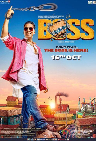 Boss Movie Poster | Shah Rukh, Aamir, Akshay, Ranbir, Saif: Who'll Win The 'Best Poster Of 2013′ Race? | Koimoi