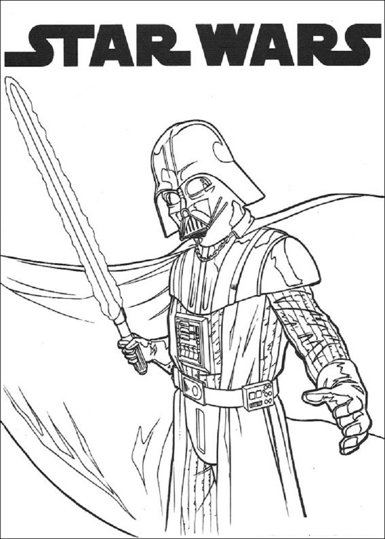 Star Wars Coloring Pages To Print Star Wars Chewbacca Darth Vader