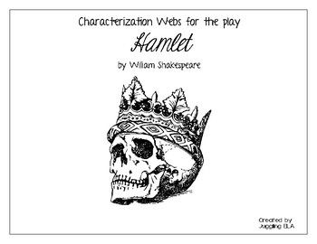 Characterization Webs for the play Hamlet by William