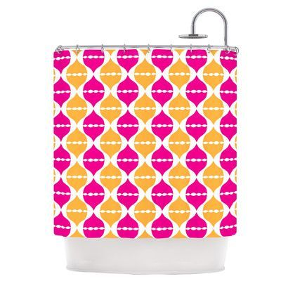 KESS InHouse Moroccan Dreams Shower Curtain