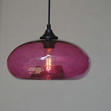 pingente característica moderna, uma luz com sombra transparente – BRL R$ 232,85