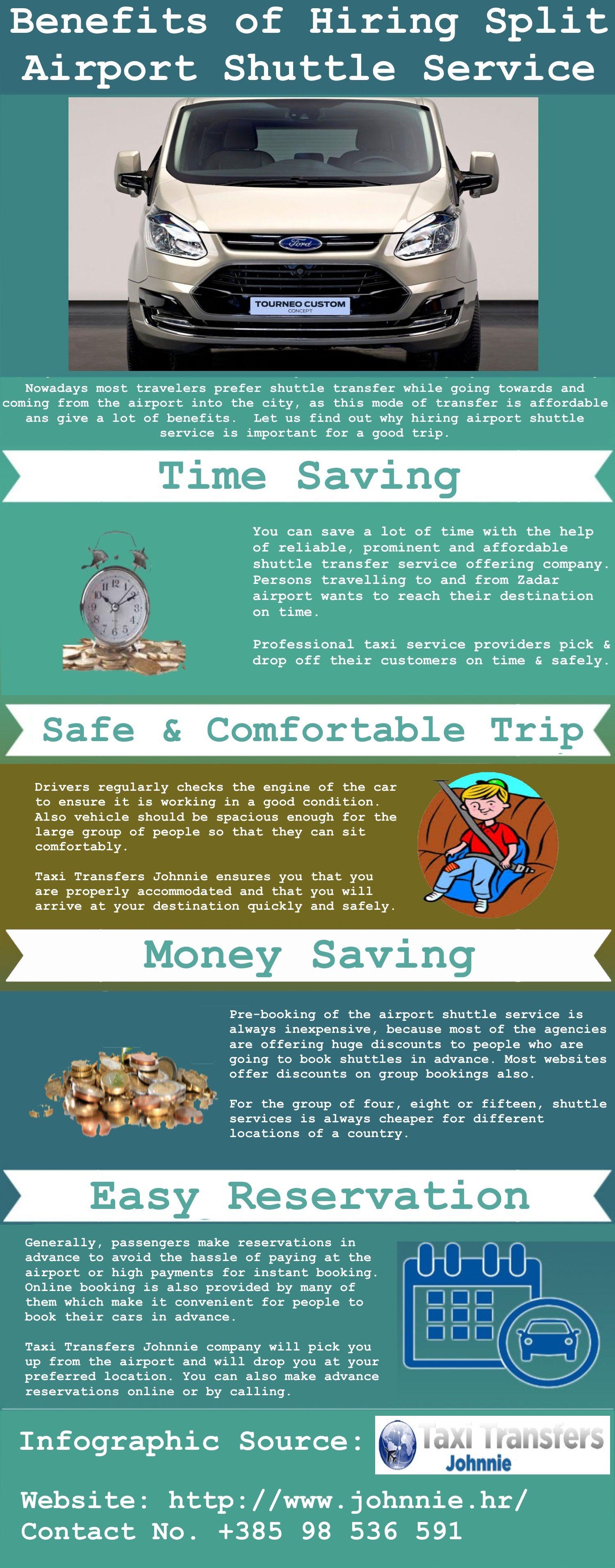 Benefits Of Hiring Split Airport Shuttle Service Airport Shuttle Shuttling Trip