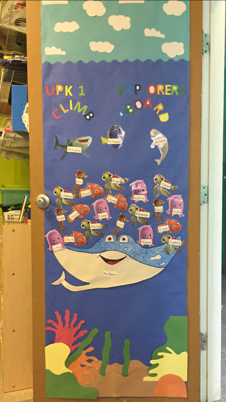 Finding Dory Classroom Door Classroom Ideas Classroom