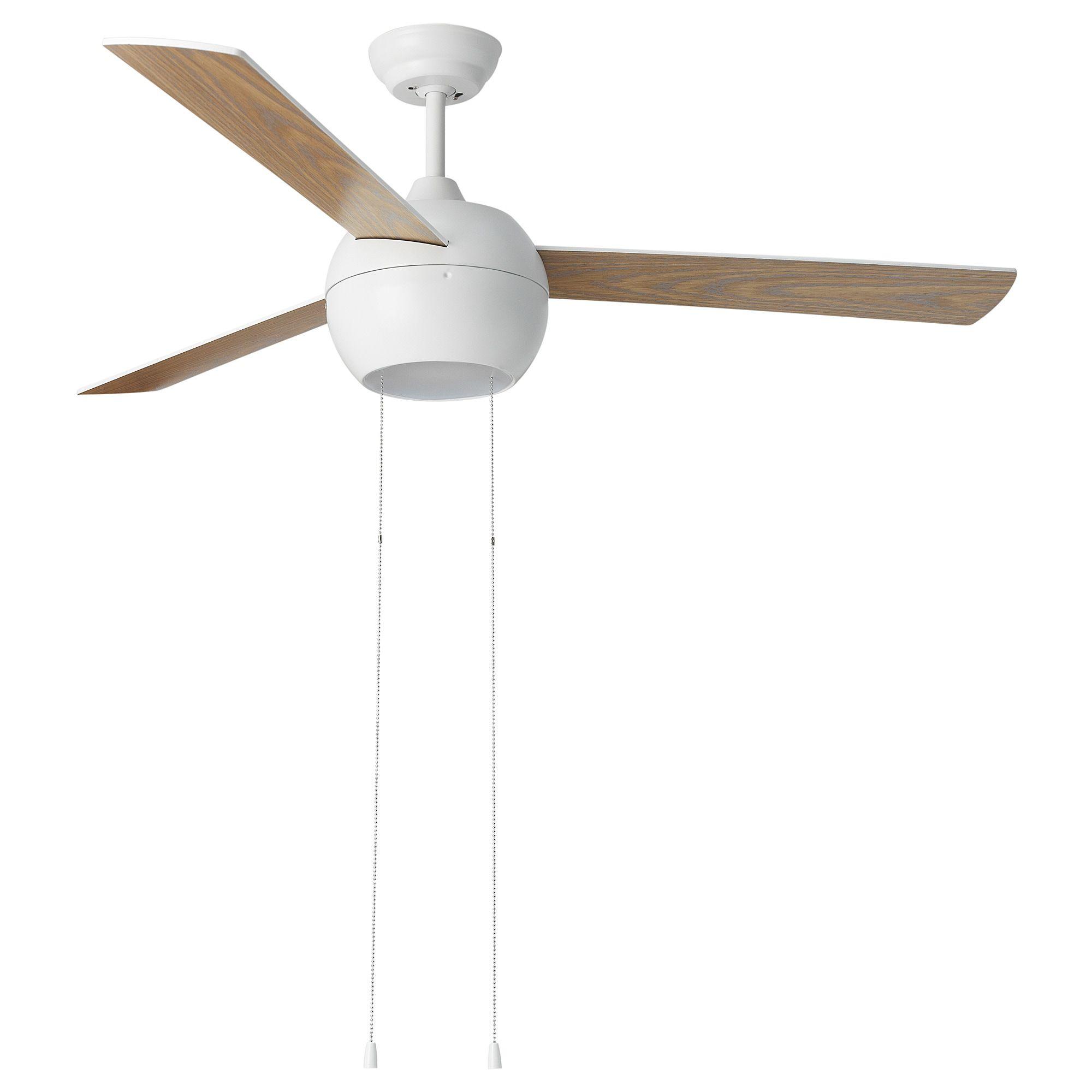Stormvind 3 Blade Ceiling Fan With Light Ikea Ceiling Fan With