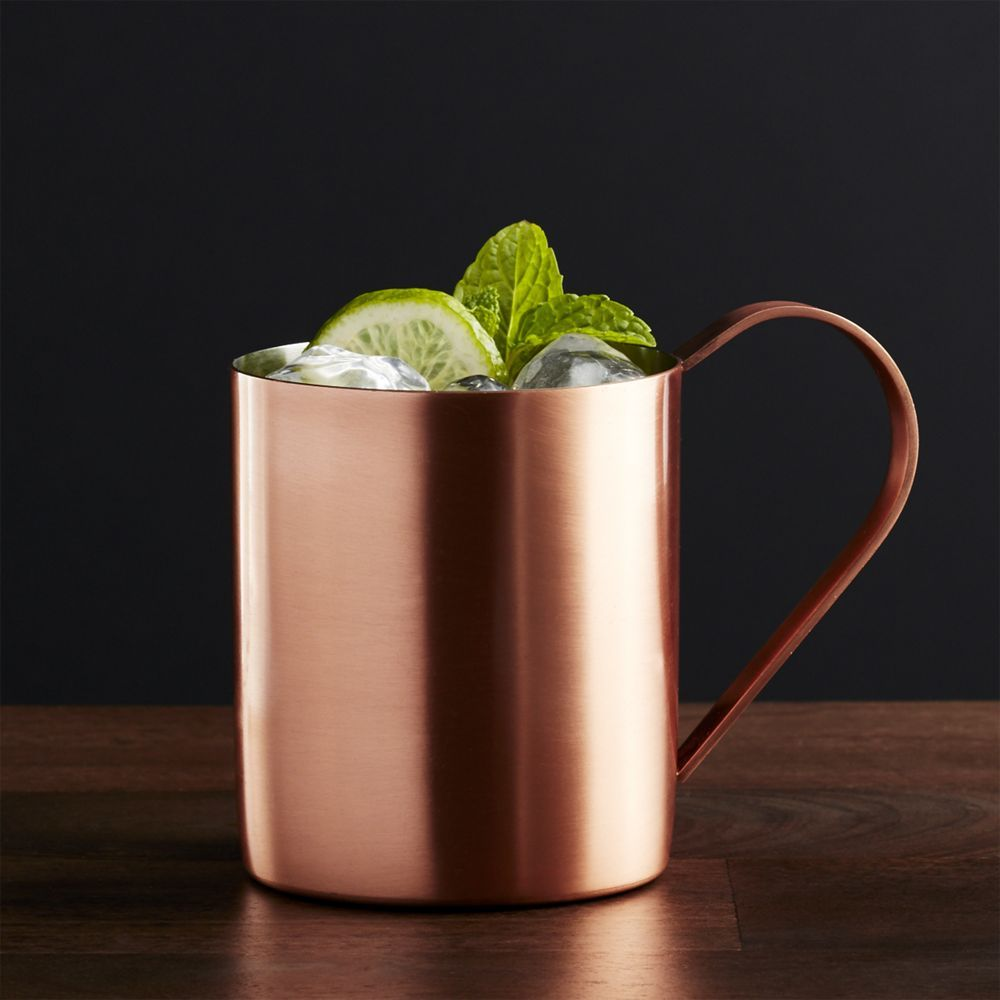 nice Crate And Barrel Copper Part - 4: Moscow Mule Copper Mug - Crate and Barrel