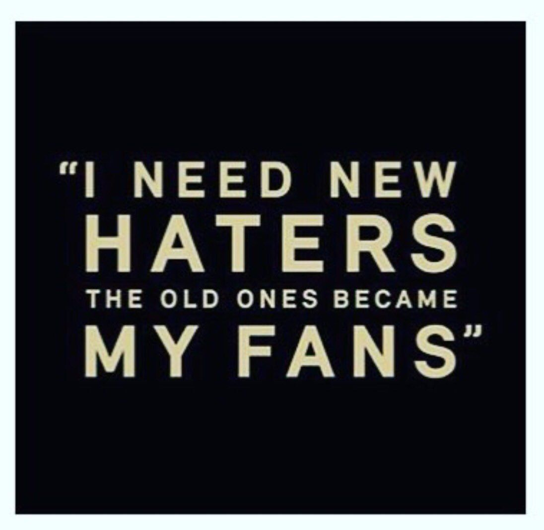 What To Say To Haters
