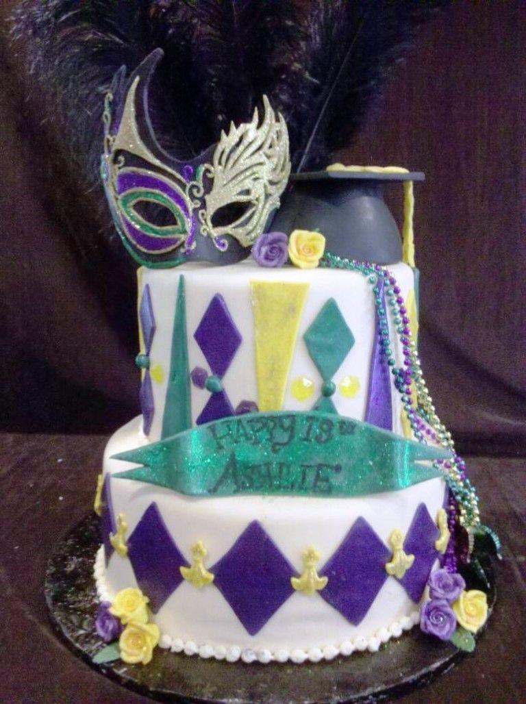 Mardi Gras Cakes Designs Ideas Mardi Gras Birthday Cakes Cake