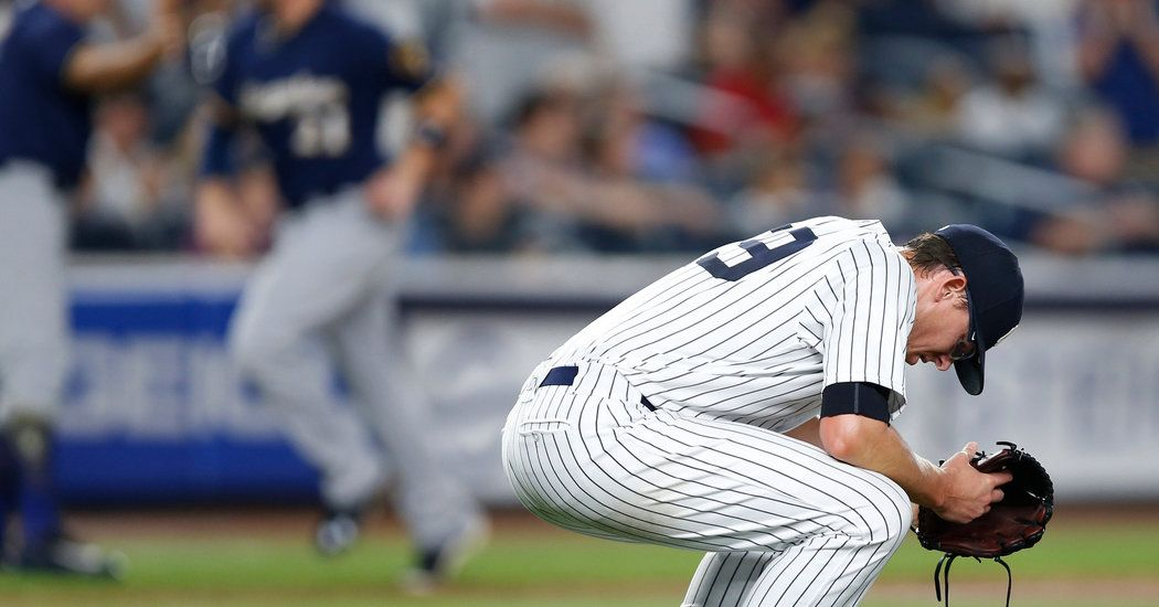 Brewers Wipe Away A Long Run Of Futility At Yankee Stadium How To Run Longer Yankee Stadium Yankees