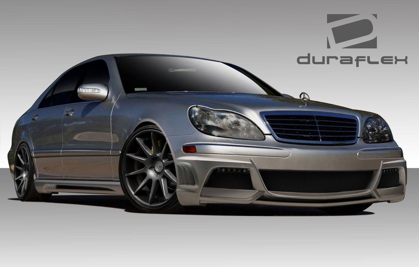 2003-2006 Mercedes S Class W220 Duraflex W-3 Body Kit - 4 Piece ...