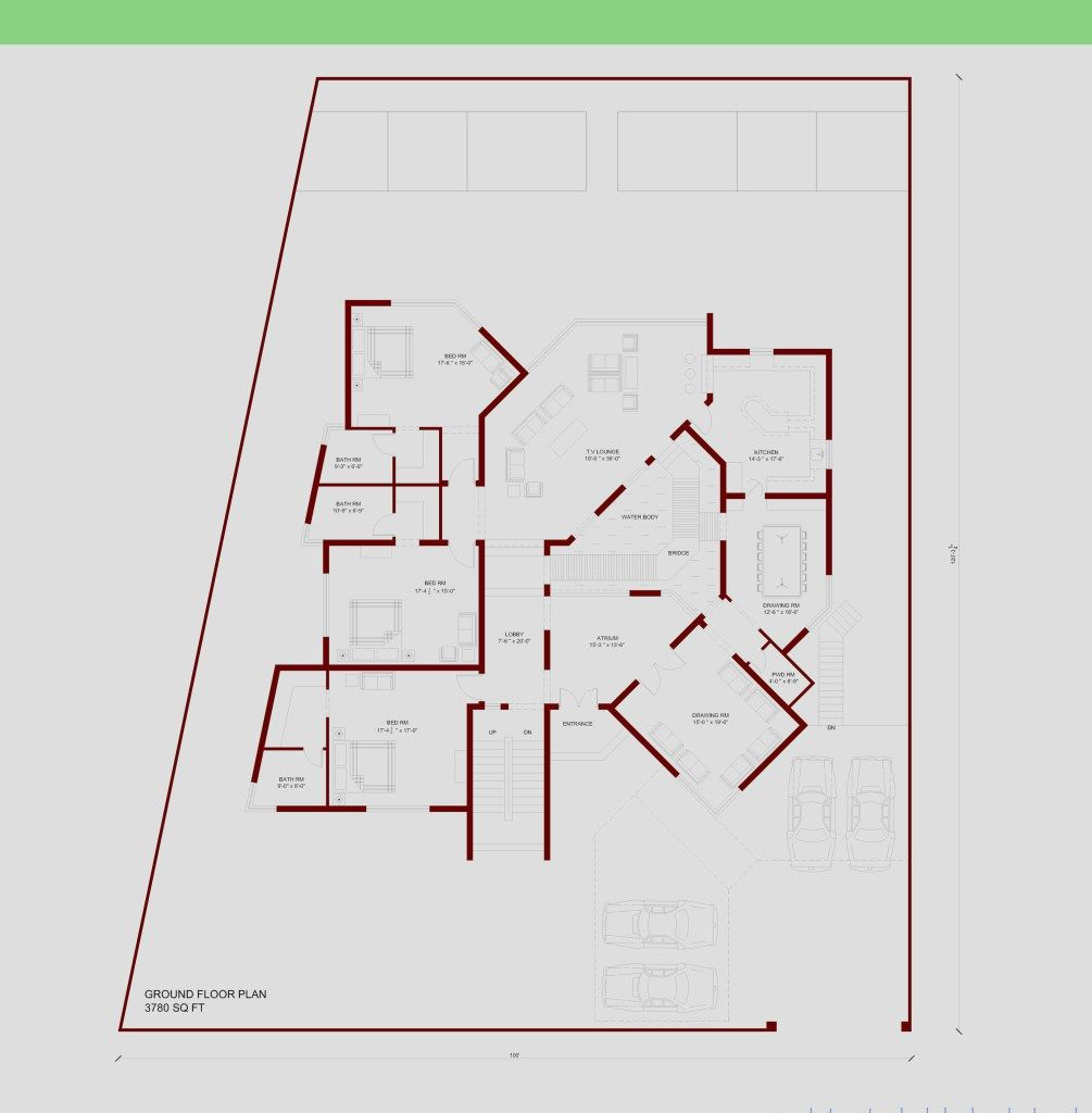 house floor plan islamabad by 360 design estate home plans