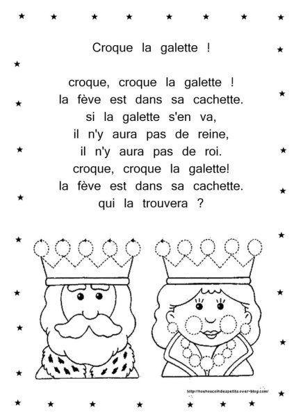 Piphanie comptine illustr croque la galette - Tchoupi galette ...