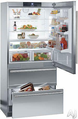 Liebherr Cs2060 20 Cu Ft Counter Depth Bottom Freezer With Adjustable Glass Shelves Full Wi Bottom Freezer Liebherr Refrigerator Bottom Freezer Refrigerator