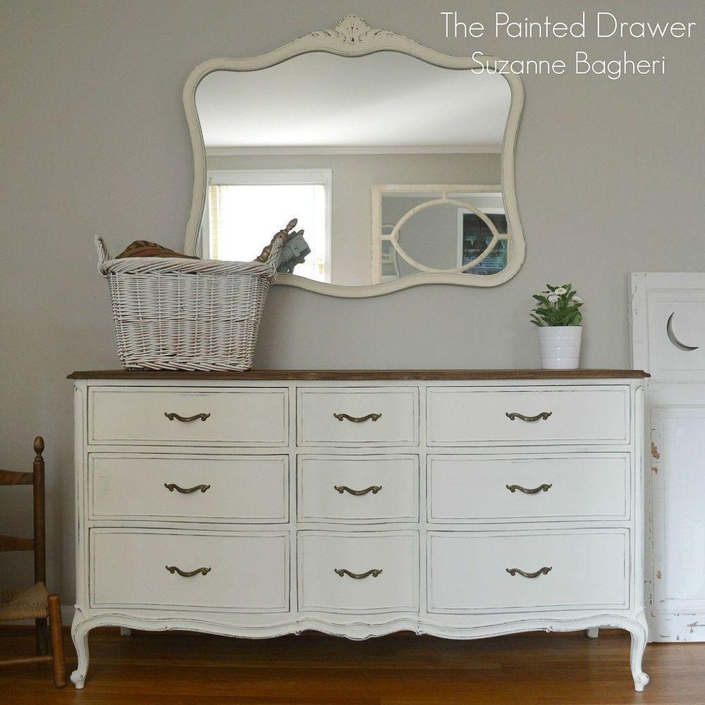 Chalk Painted Bedroom Furniture Ideas