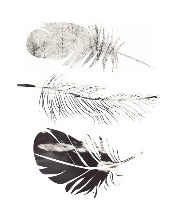 Feather Print Printable Art Feather Art Scandinavian Art Feather Wall Art Wall Decor Digital Download Poster Feather Art Printable Art Feather Wall Art