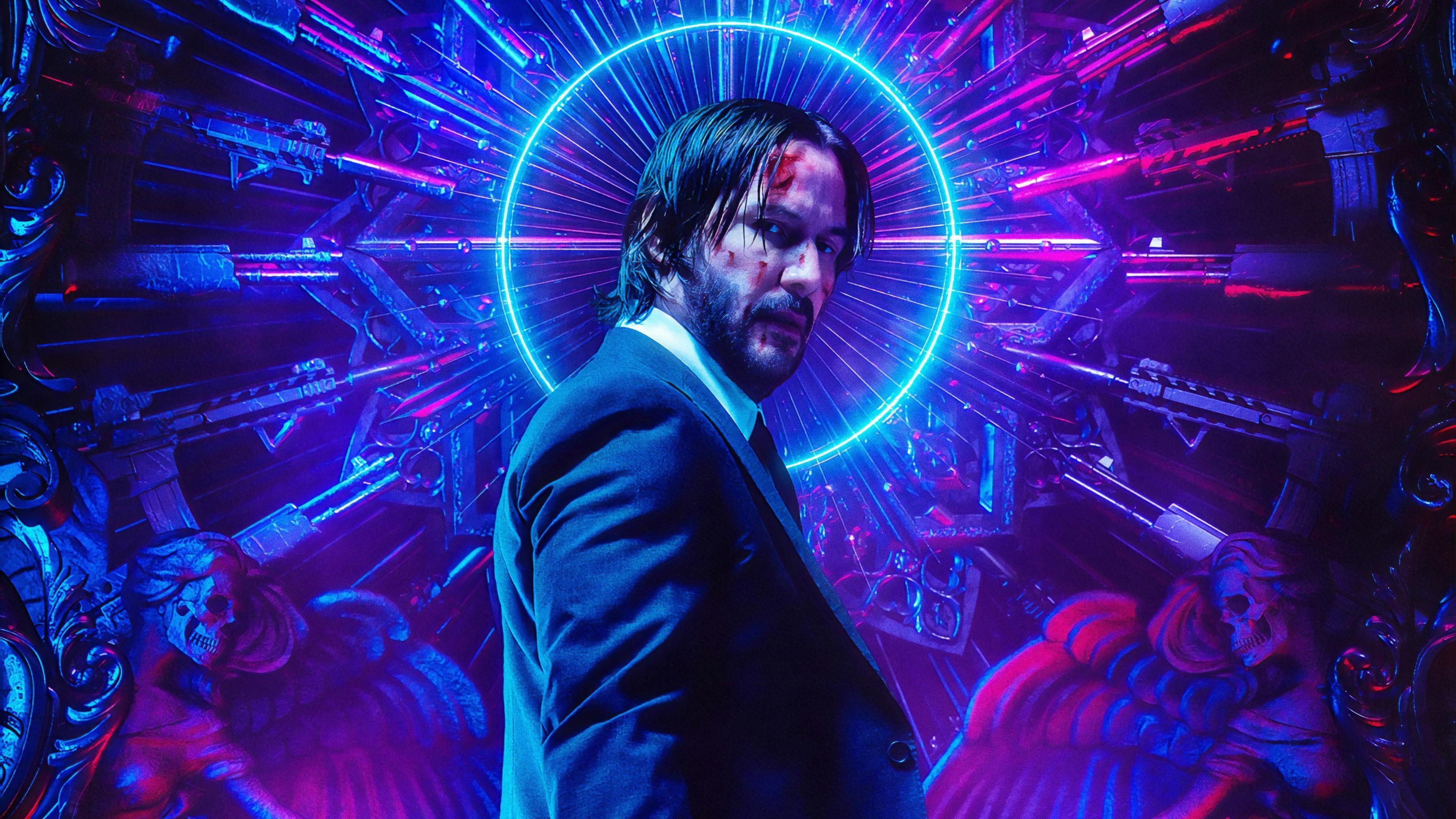 Keanu Reeves 4k Wallpaper Keanu Reeves Watch John Wick Full Movies