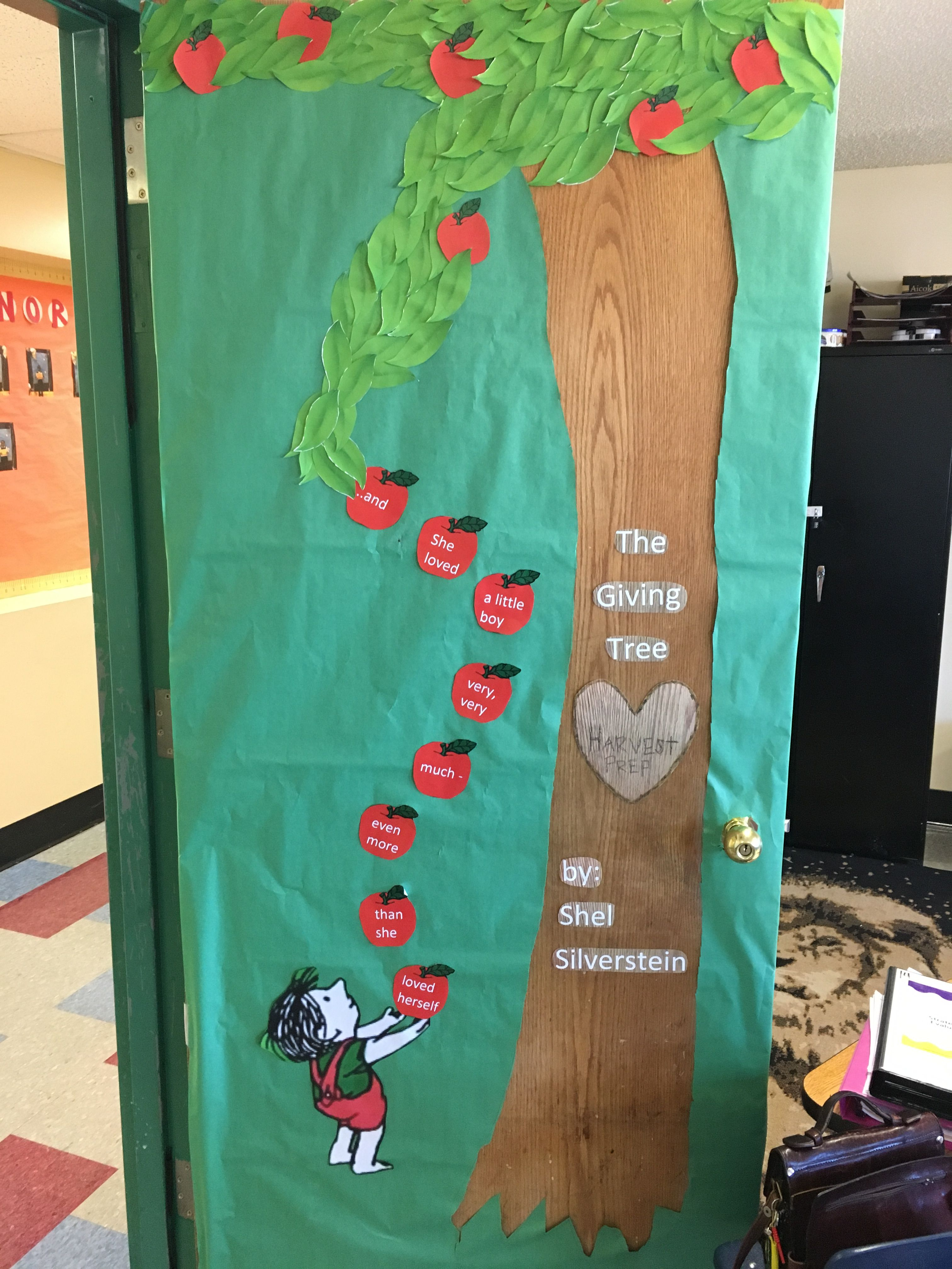 My Door I Created Inspired By The Giving Tree