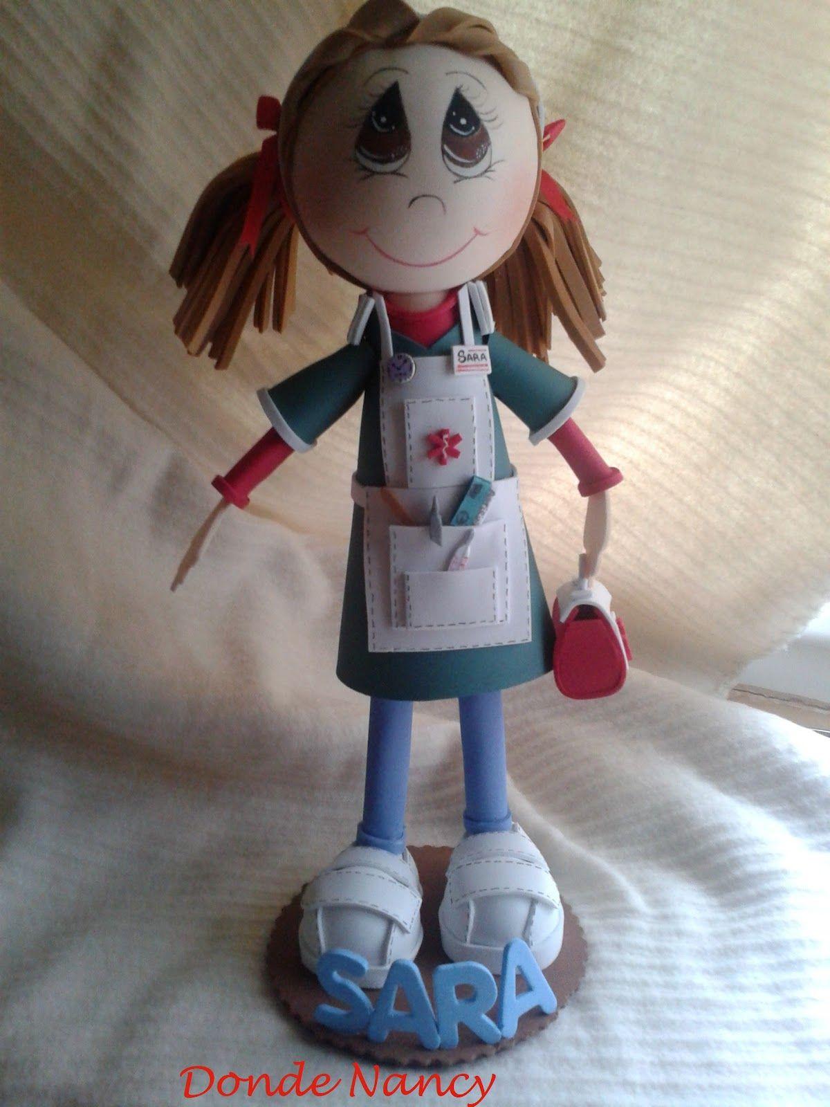 Donde Nancy: Fofucha enfermera