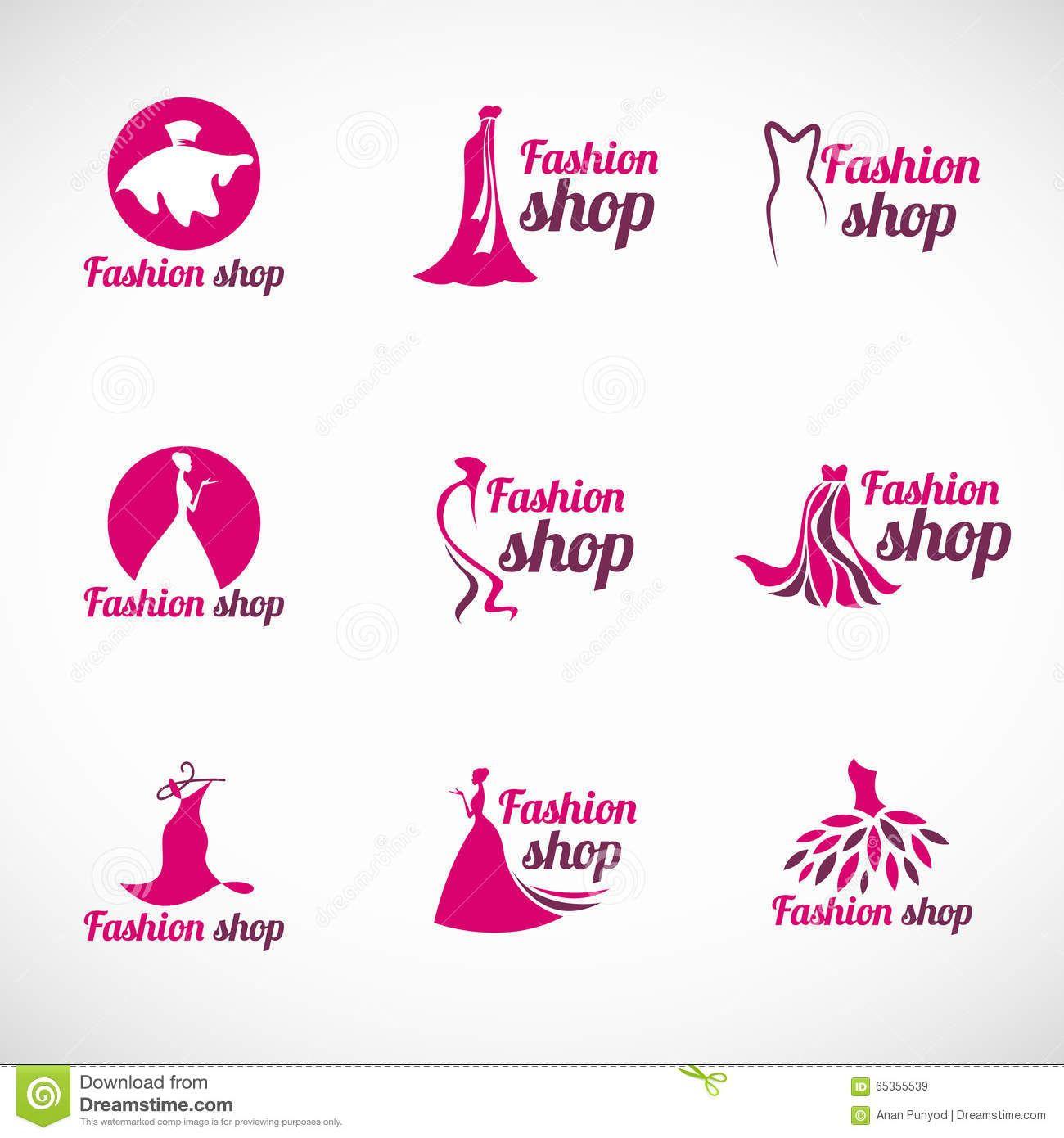 Resultado de imagem para logo moda feminina vetor Shop