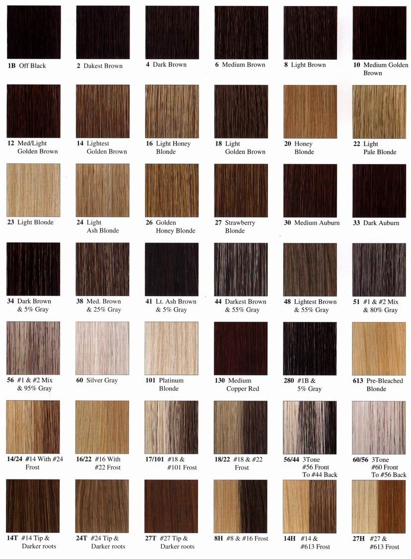 Colour Your Hair  Colour chart, Hair coloring and Hair style
