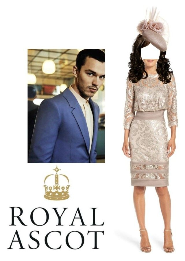 """""""Prince Frederick & Princess Chelsea Attend Royal Ascot"""" by chelseaofwales ❤ liked on Polyvore featuring Tadashi Shoji"""