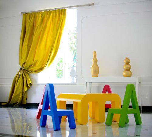 mesa de atividades