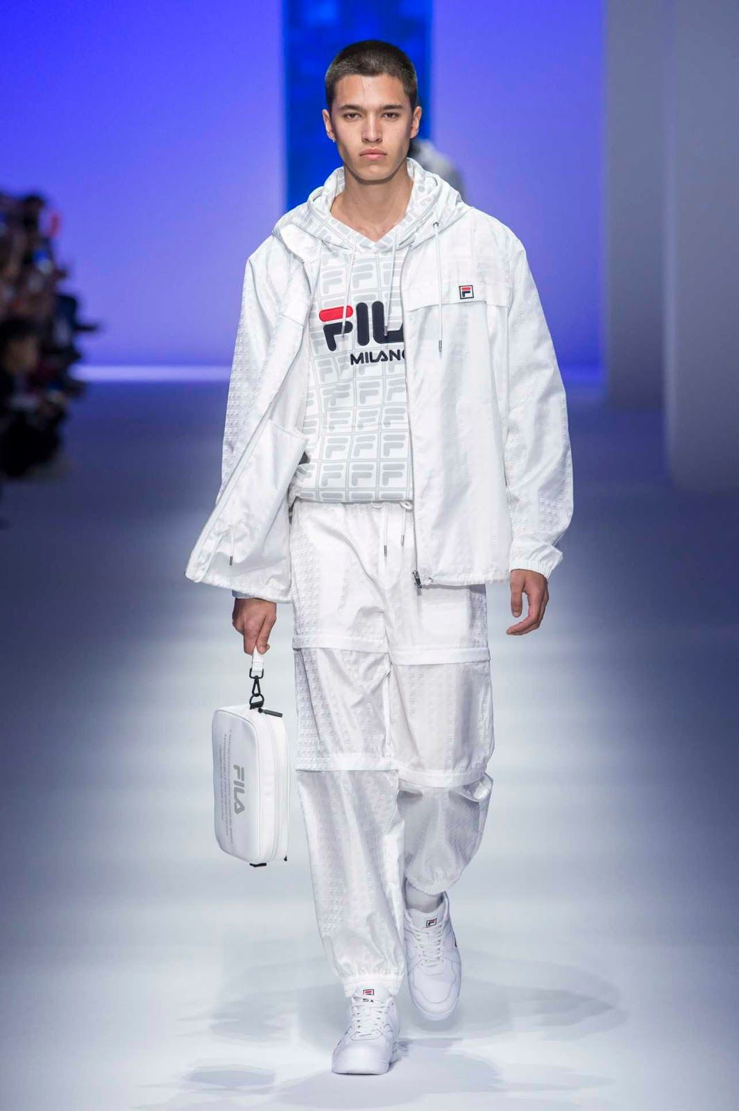 Fila Spring-Summer 2019 Runway Show | Eggy | Fashion, Mens ...