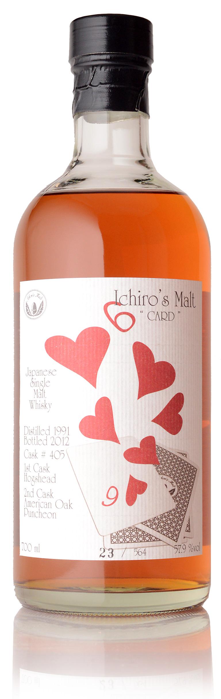 Ichiro's Malt Six of Hearts 1991/2012 - 57.9%
