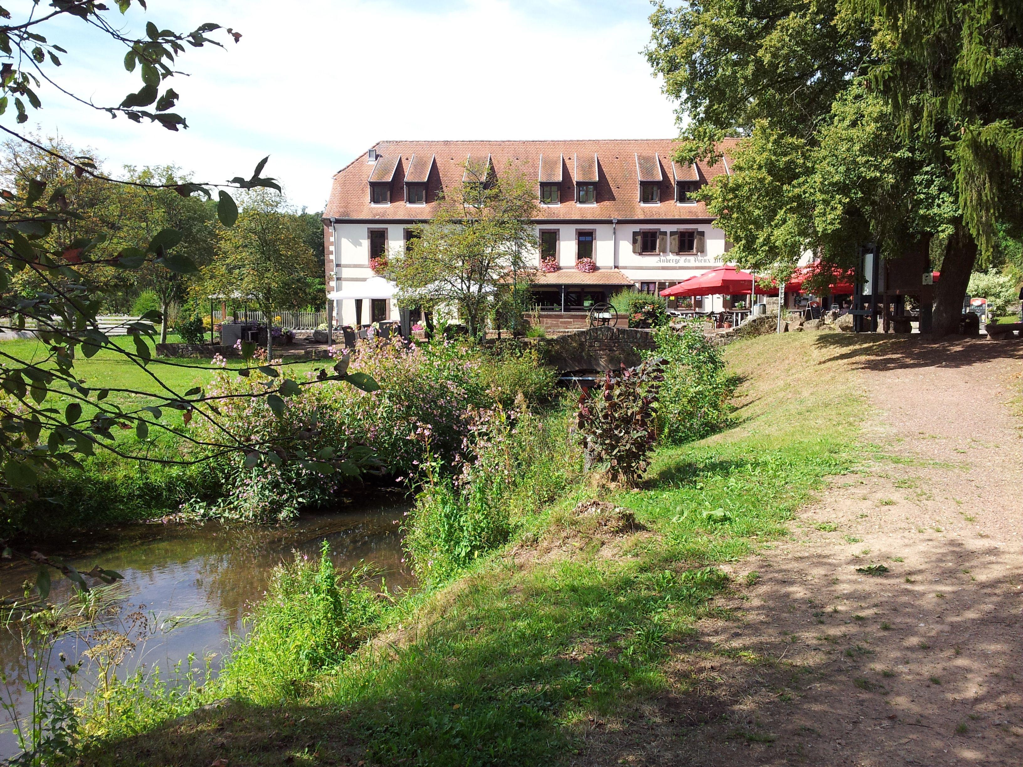 Moulin d`Eschviller. Wandern Sie entspannt vom Kloster Hornbach in die idyllische Moulin d´Eschviller.