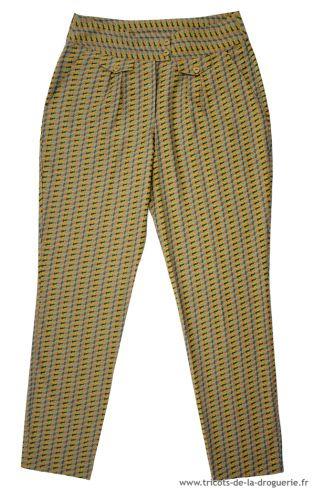 Le pantalon Carcassonne | Tricot la droguerie, Pantalon ...