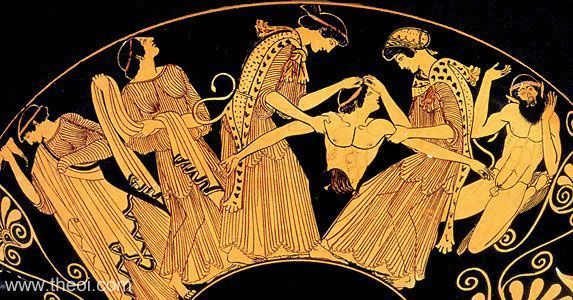 a comparison of the characters of pentheus and dionysus in the play the bacchae by euripides The bacchae: top ten quotes, free study guides and book notes including comprehensive chapter analysis, complete summary analysis, author biography information, character profiles, theme analysis, metaphor analysis, and top ten quotes on classic literature.
