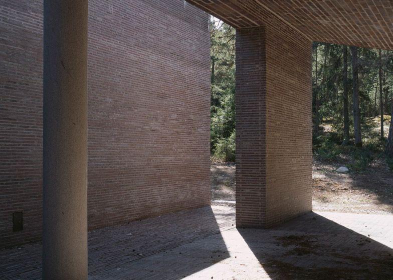 Johan Celsing's Swedish crematorium