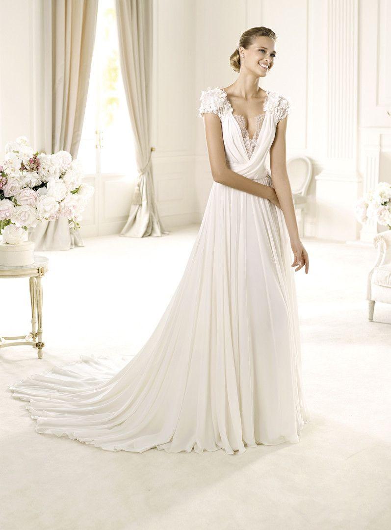 Elie saab for pronovias wedding dresses photos by elie saab couture