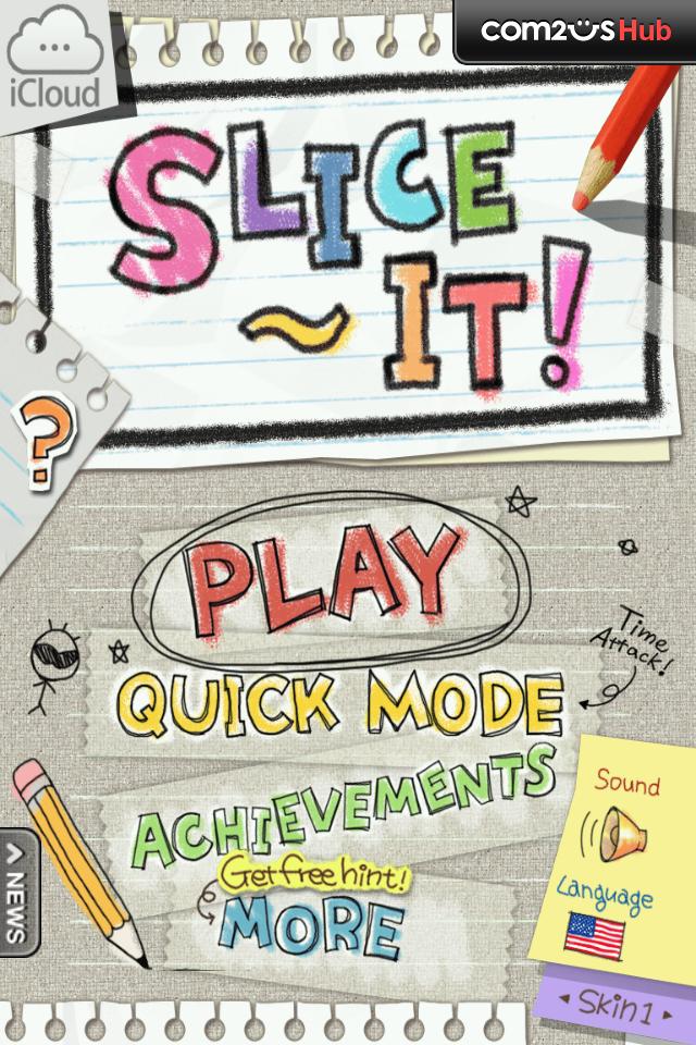 PlayPeep Slice it! [Android, Free] [iOS, 0.99] A