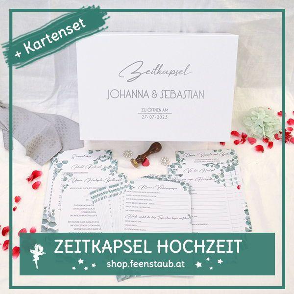 Zeitkapsel-Box Hochzeit in 2020 (mit Bildern) | Hochzeit