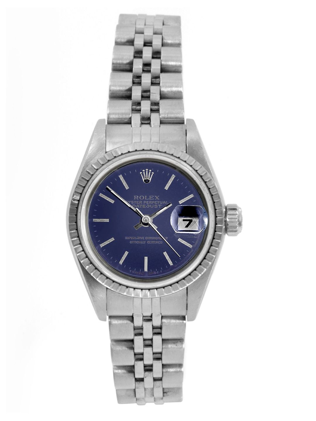 ae8108d3732c Rolex Oyster Perpetual Datejust Stainless Steel Watch