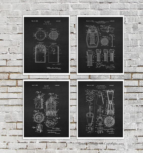 This listing is for One Single reproduction print of a Pepper Mill design patent illustration in white inverted image overlaid on distressed