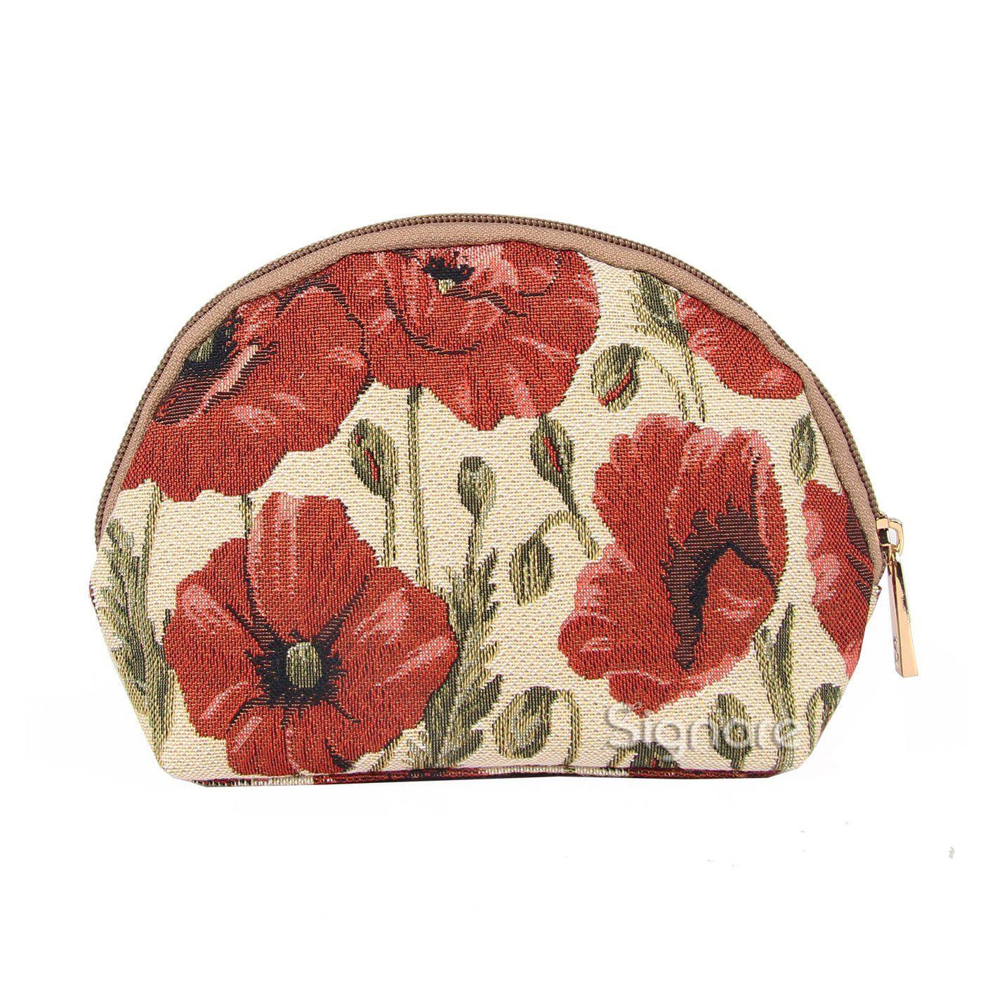 Signare Tapestry Makeup Bag Travel Cosmetic Bag Brush Bag