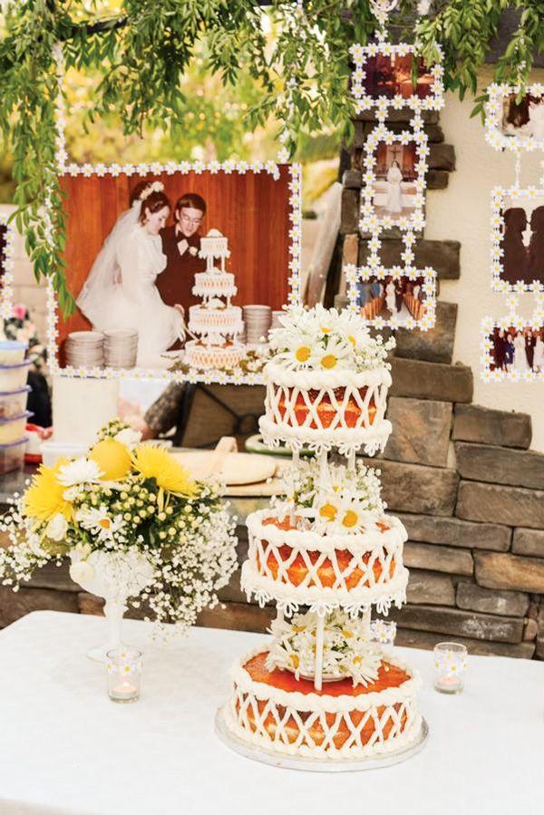 40th Wedding Anniversary Backyard Garden Party