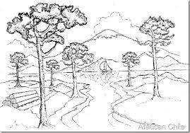 Resultado De Imagen Para Dibujos De Paisajes Tipicos Fotocopia