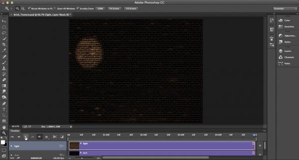 Create An Animated Spotlight Create Animation Animation Photoshop