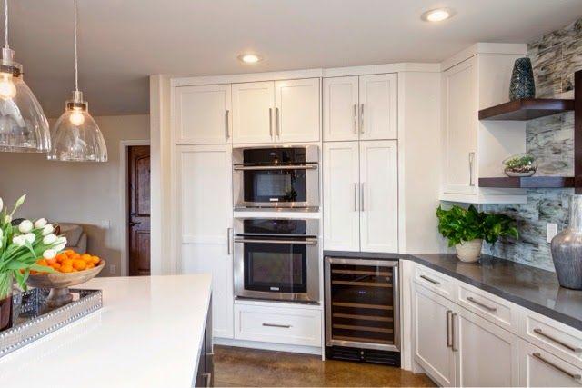 west elm industrial pendants in kitchen | Kitchen, Kitchen ...