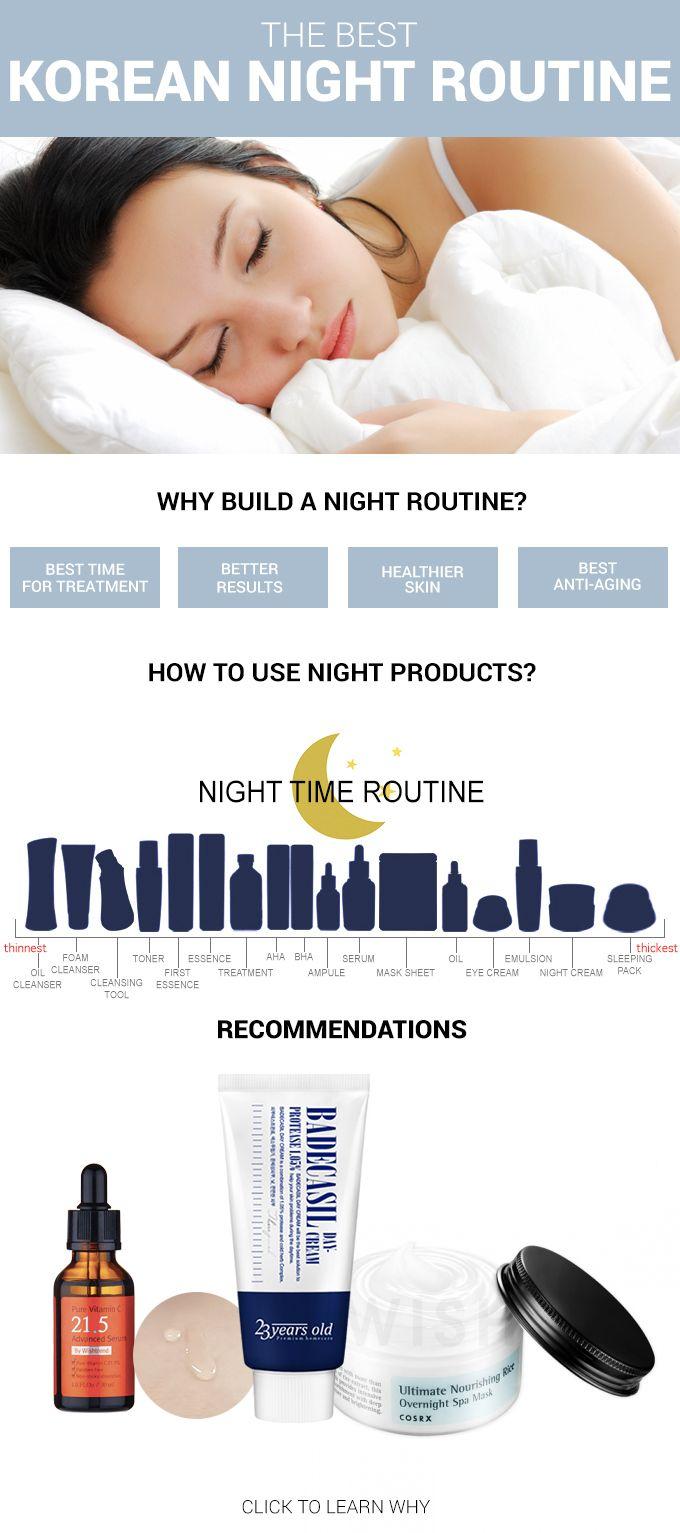The Best Korean Night Routine